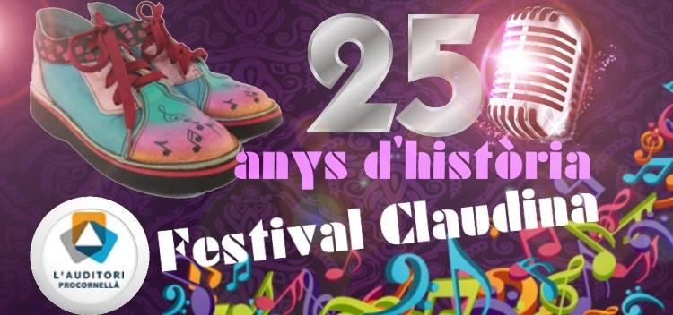 VENDA D'ENTRADES: 25è Festival Claudina