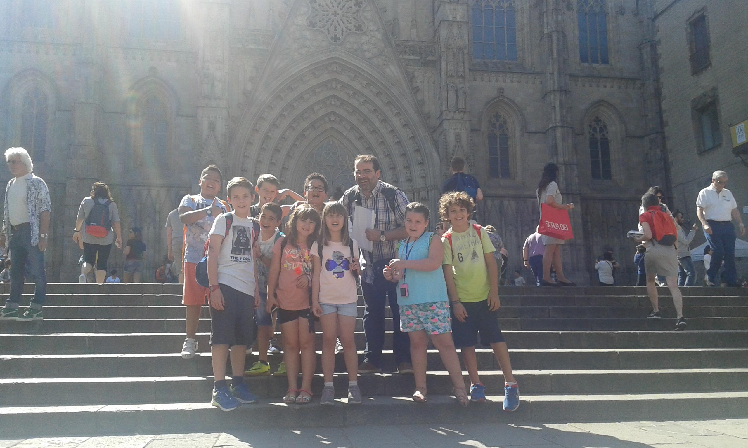 Visita a la Catedral i a la Sagrada Família