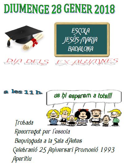 Dia dels ex alumnes!!!