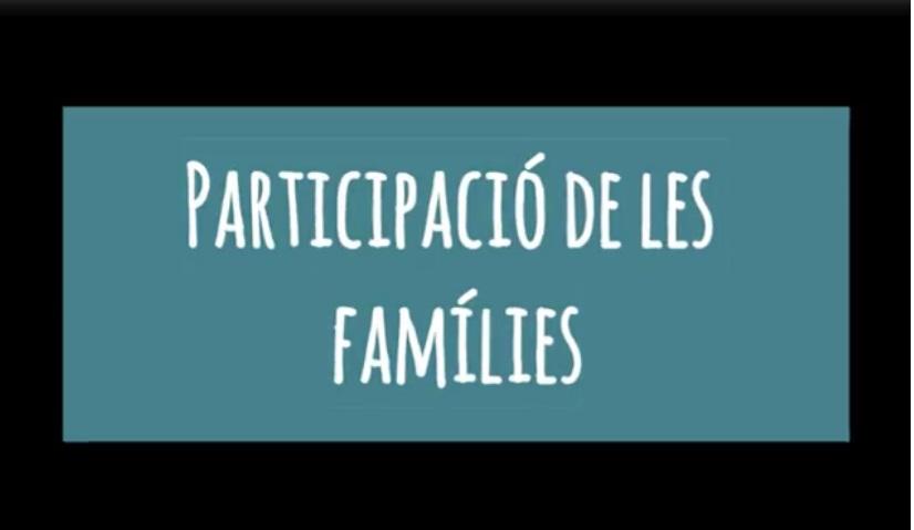 Participació de les famílies a l'escola