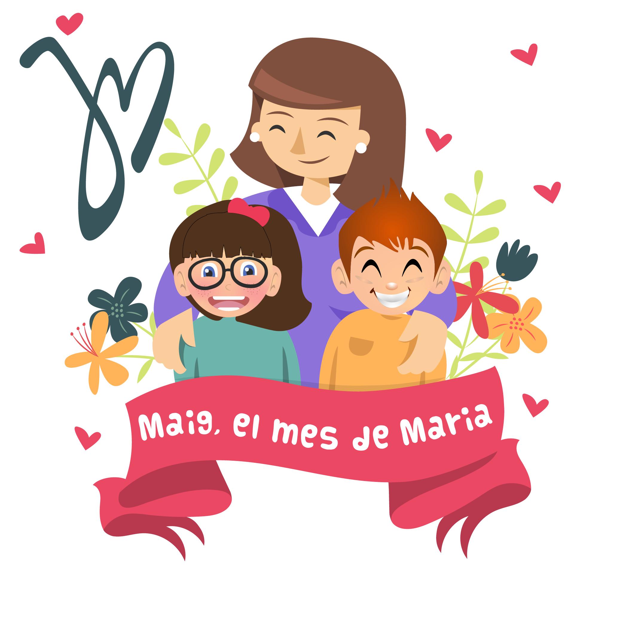 Maig, el mes de Maria