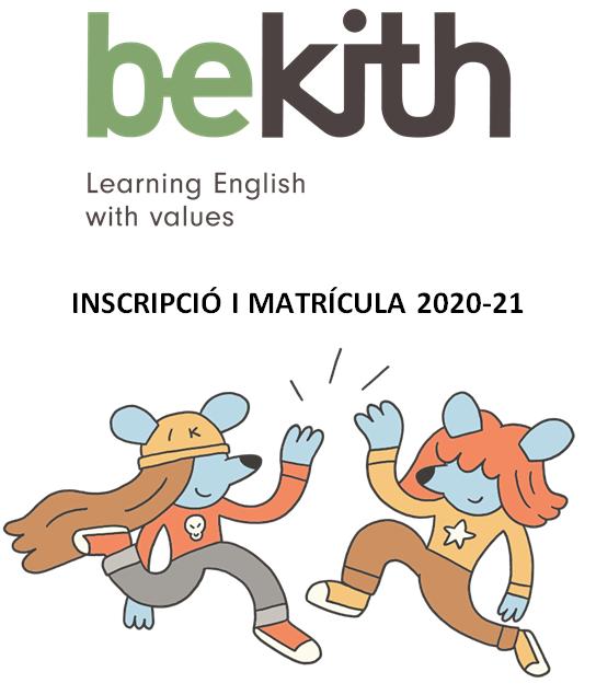 Inscripció i matricula – BeKith