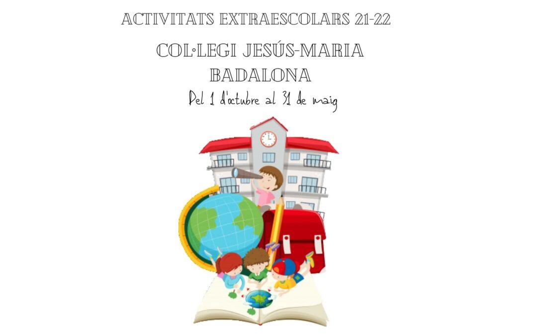 Extraescolars 2021-2022