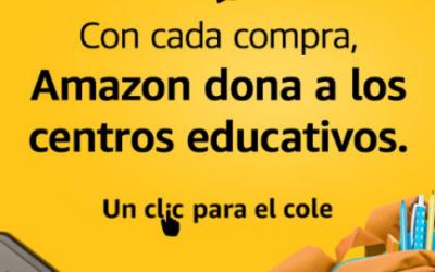 Unclicparaelcole – Iniciativa d'Amazon